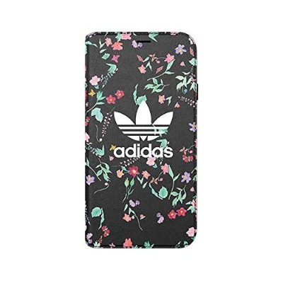 Adidas iPhone XS/Xケース OR Booklet Case Graphic AOP FW18 Black 31648