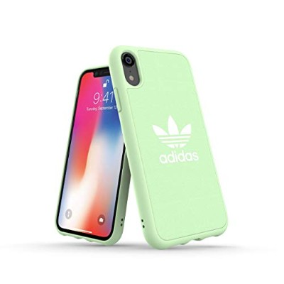 Adidas 32842 OR ADICOLOR Moulded Case CANVAS FW18 clear mint 〔iPhone XR用〕