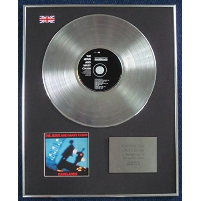 Jesus and Mary Chain - Limited Edition CD Platinum LP Disc - Darklands