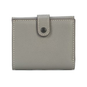 Coach small trifold wallet - グレー