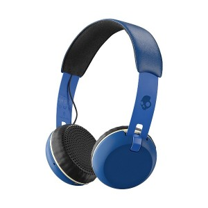 SKULLCANDY Grind Wireless ワイヤレスヘッドホン○GrindWireless Royal/cream/blue 音響機器