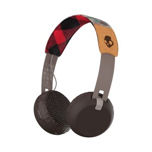 SKULLCANDY Grind Wireless ワイヤレスヘッドホン○GrindWireless Tan/camo/brown 音響機器