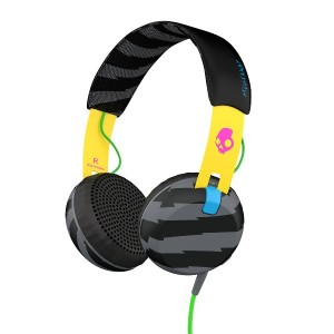 SKULLCANDY Grind ONEAR ヘッドホン○Grind Localsonly/yellow/black 音響機器