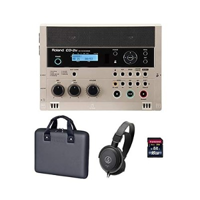 【専用ケース/CB-CD2E+audio-technicaヘッドホン+SDHCカード/16GB付】Roland ローランド CD-2u SD/CD Recorder SD/CDレコーダー