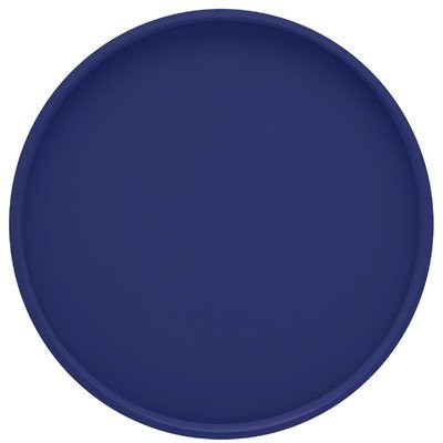 Round Serving Tray inロイヤルブルー