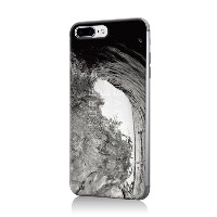 photograph by u-ske asian wave b/w○ZM0039IP7P Gry パソコン・モバイル雑貨