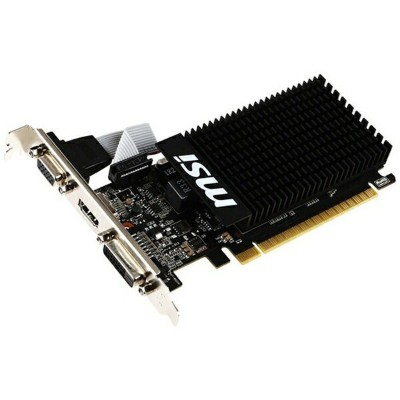 MSI エムエスアイ グラフィックボード NVIDIA GeForce GT 710搭載 PCI-Express MSI GT 710 1GD3H LP[1GB/GeForce GTシリーズ]