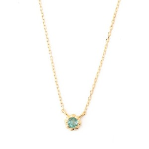 TOCCA 【TOCCA JEWEL】weave K10 エメラルド ネックレス
