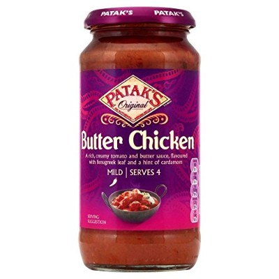 Patak's Butter Chicken Sauce Original (450g) パタクのバターチキン醤油、元( 450グラム)
