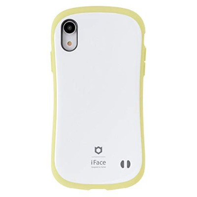 iFace First Class Pastel iPhone XR ケース [イエロー]