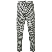 Dsquared2 classic houndstooth trousers - ブラック