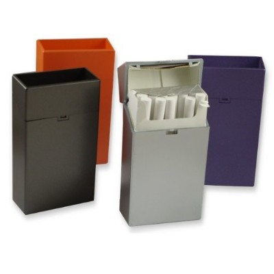 100's Sized Flip Top Cigarette Case (For 100's Only) (Assorted) #CH33 by Fujima