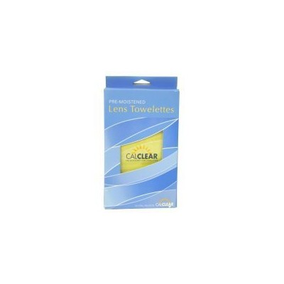 Pre-Moistened Lens Towelettes Cleaner by California Accessories