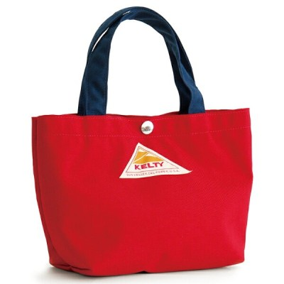 KELTY(ケルティ) MINI TOTE S Red×Navy 2592210