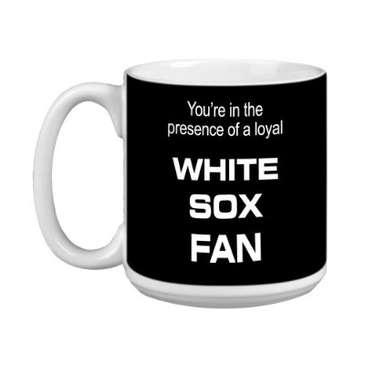 Tree-Free Greetings XM28082 White Sox Baseball Fan Artful Jumbo Mug, 590ml