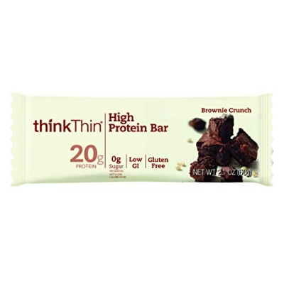 Think Thin Thin Bar, Brownie Crunch, 59 g by Think Products