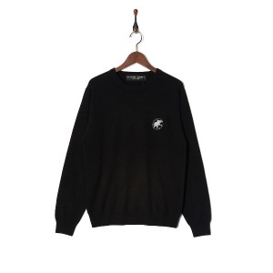 HUNTING WORLD Cashmere Sweater○84KN01 Bk トップス