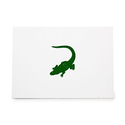 Alligator Animal Style 6164, Rubber Stamp Shape great for Scrapbooking, Crafts, Card Making, Ink...