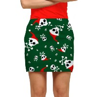 LoudMouth Ladies Jingle Bones StretchTech Skort【ゴルフ レディース>スコート】