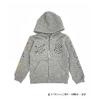 【SALE(三越)】 IN THE HOUSE  IN THE HOUSExZIP-UP HOODIE(KIDS) グレー 【三越・伊勢丹/公式】 キッズファッション~~その他