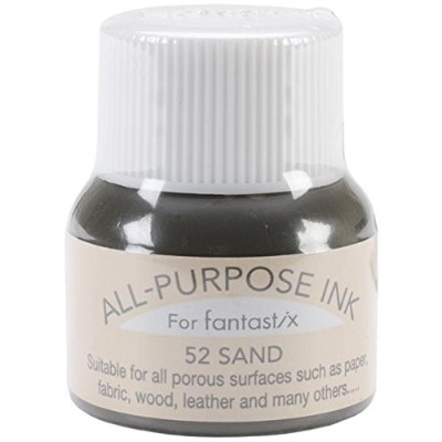 Tsukineko 0.5-Fluid-Ounce All Purpose Ink, Sand by Tsukineko