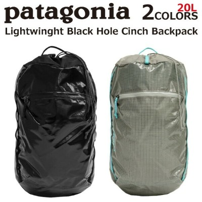 patagonia パタゴニア Lightweight Black Hole Cinch Backpack ライトウェイト ブラックホール シンチ バックパックリュック リュックサック バックパック...