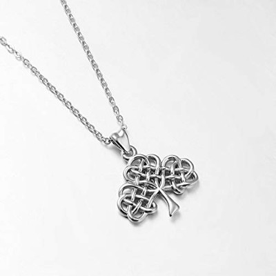 Sterling Silver Tree of Life Pendant Fashional Celtics Knot Charms Necklace [並行輸入品]