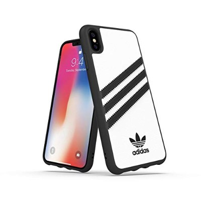 Adidas 32809 OR SAMBA Moulded Case PU FW18 white/black 〔iPhone XS Max用〕
