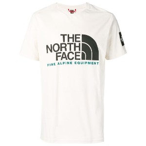 The North Face ロゴ Tシャツ - ホワイト
