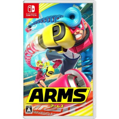 【Switch】ARMS 任天堂 [HAC-P-AABQA NSWアームズ]