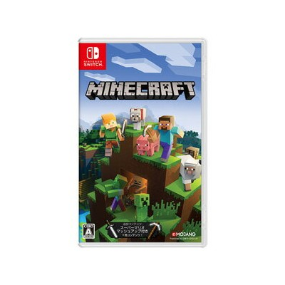 【Nintendo Switch】Minecraft マイクロソフト [HAC-P-AEUCA NSW マインクラフト]