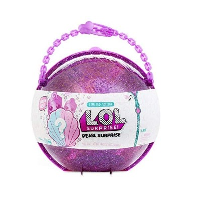 LOLサプライズ パールスタイル2 ラメ ドール 人形 フィギュア L.O.L. Surprise! Pearl Style 2 Unwrapping Toy