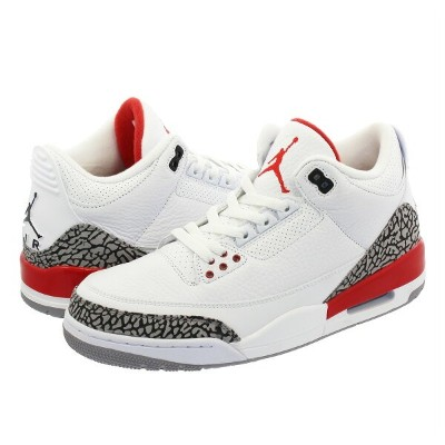 NIKE AIR JORDAN 3 RETRO 【KATRINA】 ナイキ エア ジョーダン 3 レトロ WHITE/CEMENT GREY/FIRE RED 136064-116