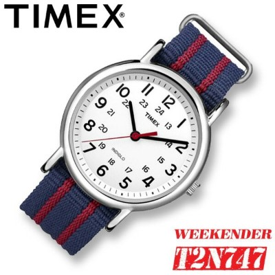 TIMEX【T2N747】WEEKENDER CENTRAL PARK FULL SIZE 38mm径 タイメックス ウィークエンダー セントラルパーク メンズ 腕時計 ナイロンベルト ブルー...