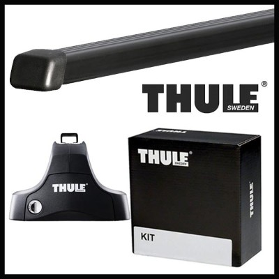THULE スーリー スズキ エリオ セダン RA21S,RC51S H13/11〜 ルーフキャリア取付1台分セット TH754+TH7122+TH1235セット