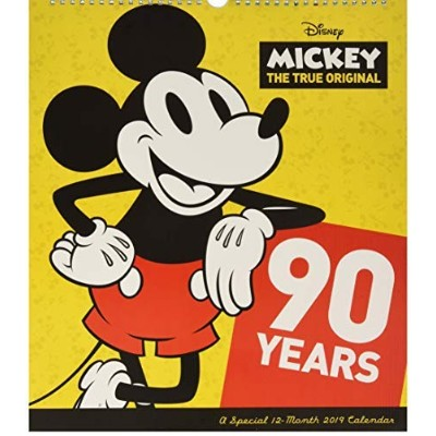 Mickey Mouse - Special Edition Wall Calendar (2019) [並行輸入品]