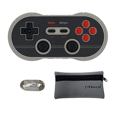 Mcbazel 8Bitdo N30 Pro 2ワイヤレスBluetoothコントローラWindows / Android/macOS/Steam/Switch/Raspberry Piに対応...