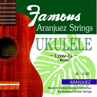 【即日発送O.K】FAMOUS UKULELE STRINGS ウクレレ用弦(Low G)【smtb-ms】【RCP】【zn】