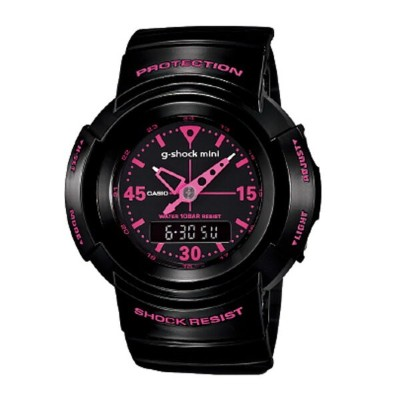 カシオ G-SHOCK MINI 【GMN-500-1B2JR】カラー【BLACK-PINK 】【日本正規品】 ship1