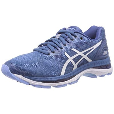 Asics GEL-Nimbus 20 [T850N-401] Women Running Shoes Azure/White
