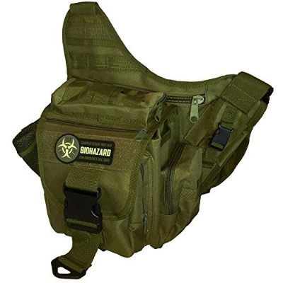 Men's Tactical Diaper Bag (Olive) by F-Bomb Morale Gear