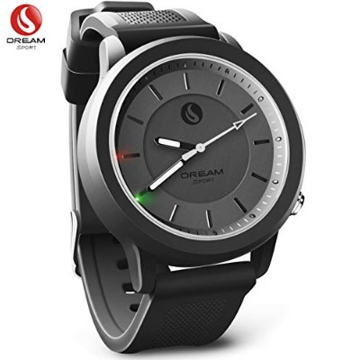DREAM SPORT Hybrid Smartwatch,Analog Smart Watch with Bluetooth & 3 ATM Waterproof - Activity...