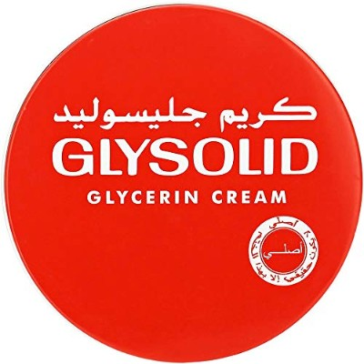 Glysolid Cream Face Moisturizers For Dry Skin Hands Feet Elbow Body Softening With Glycerin Keeping...
