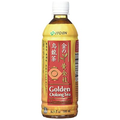 Ito En Tea Golden Oolong Tea, Unsweetened, 16.9 Ounce (Pack of 12) by Ito En