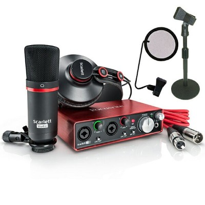 ●Focusrite Scarlett Studio G2 DeskTop Recording Set