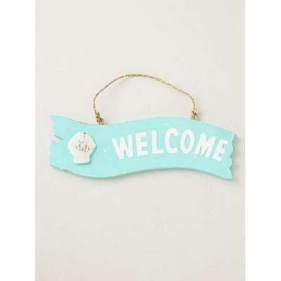 【SALE/50%OFF】Kahiko Hawaiian WELCOME Signboard (wave) チャイハネ 生活雑貨【RBA_S】【RBA_E】