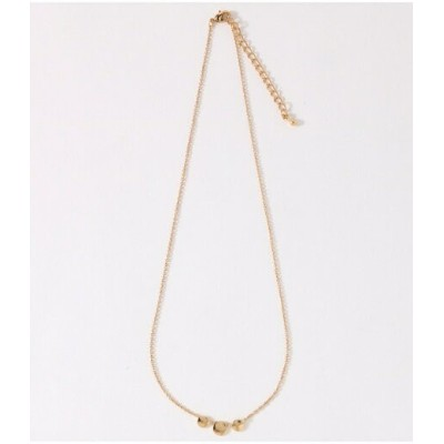 【SALE/49%OFF】AZUL by moussy 14KGF3プレートチェーンネックレス(CARD) アズールバイマウジー アクセサリー【RBA_S】【RBA_E】