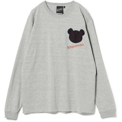 【SALE/10%OFF】BEAMS T 【SPECIAL PRICE】SOUVENIR / Wish You Bear Long Sleeve Tee BEAMS ビームス ビームスT カットソー...