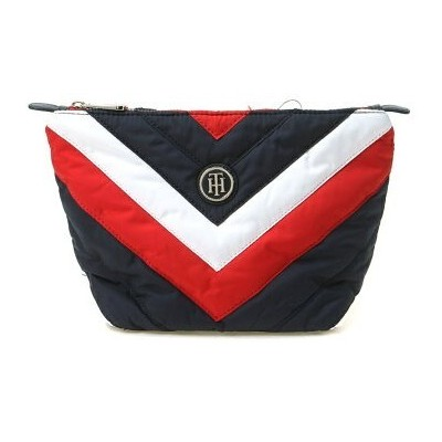 【SALE/40%OFF】TOMMY HILFIGER (W)トミーヒルフィガーストライプメイクアップポーチ トミーヒルフィガー バッグ【RBA_S】【RBA_E】