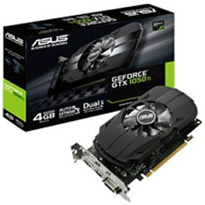 ASUS エイスース グラフィックボード NVIDIA GeForce GTX 1050 Ti搭載 PCI-Express PH-GTX1050TI-4G[4GB/GeForce GTXシリーズ]...